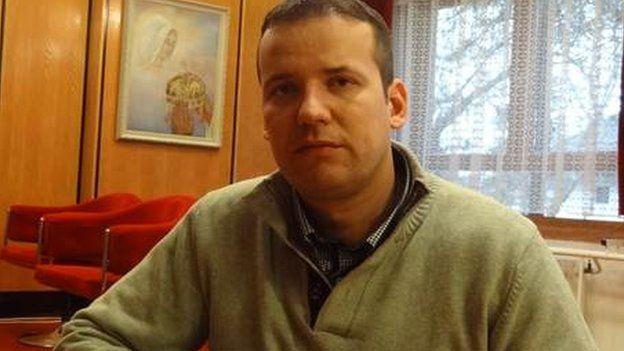 Laszlo Torockai, mayor of Asotthalom