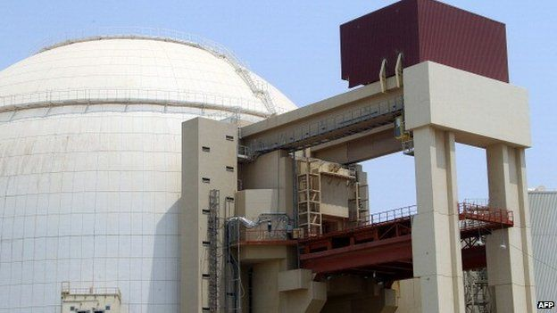 Russian-built Bushehr nuclear power plant in southern Iran, 21 August 2010