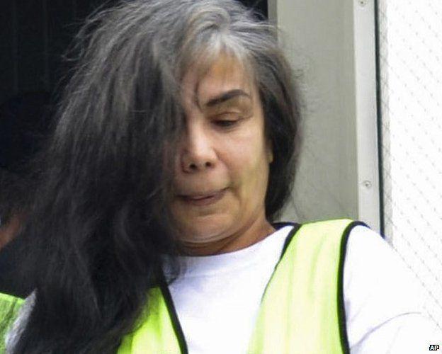 Sandra Avila Beltran, pictured in 2013