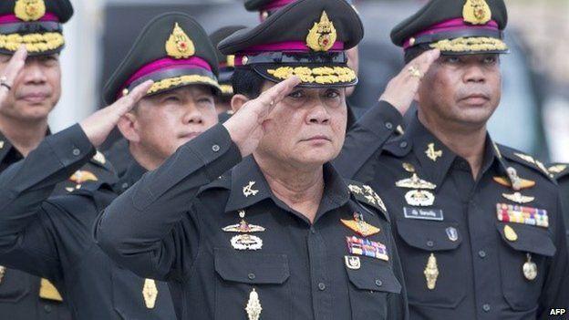 Thailand's army chief General Prayuth Chan-ocha. 21 August 2014