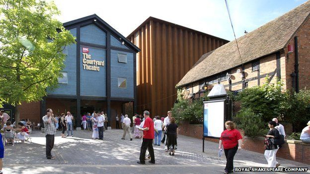 The Courtyard Theatre building, now known as The Other Place