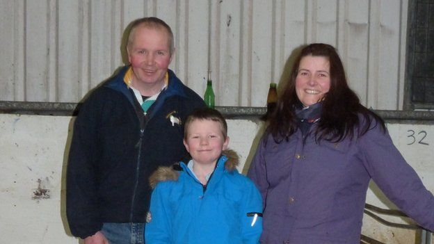 Sandy, Kirsteen agus am mac
