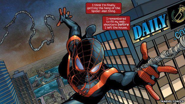 The Case For A Non White Spider Man Bbc News