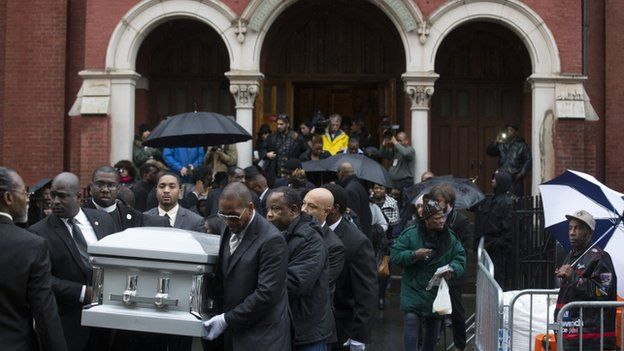 Funeral in Brooklyn