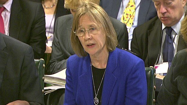 HMRC boss Lin Homer appearing before MPs