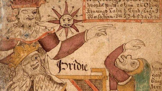 Manuscript of Prose Edda (Iceland, 1765-1766), from the Arni Magnusson Institute for Icelandic Studies via Wikipedia