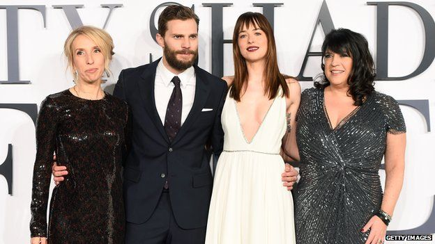 the cast of fifty shades of grey