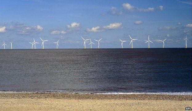 Scroby Sands offshore wind farm