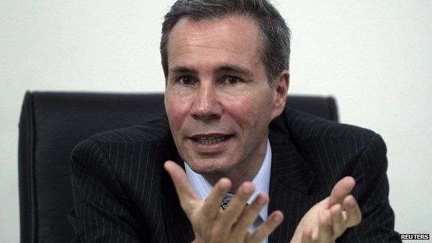 Alberto Nisman pictured earlier in 2015