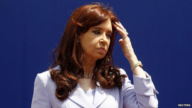 Argentina's President, Cristina Fernandez de Kirchner