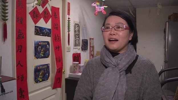 Video still of Bernice Chang
