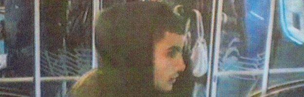 Police handout of suspect Omar El-Hussein