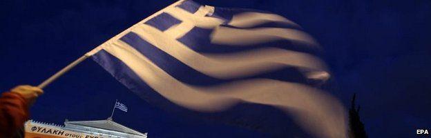 Greek flag (file pic)