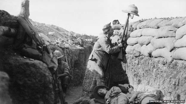 Royal Irish Fusilier gets sniper attention