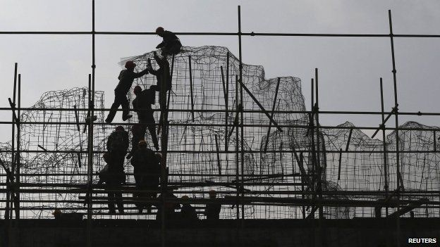Construction work in Yunnan province 2/02/2014