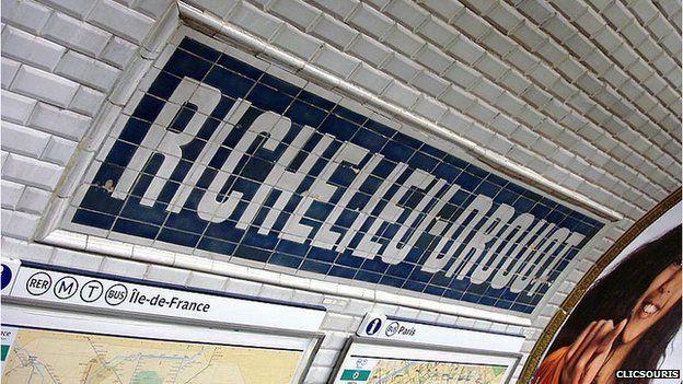 Richelieu Drouot station