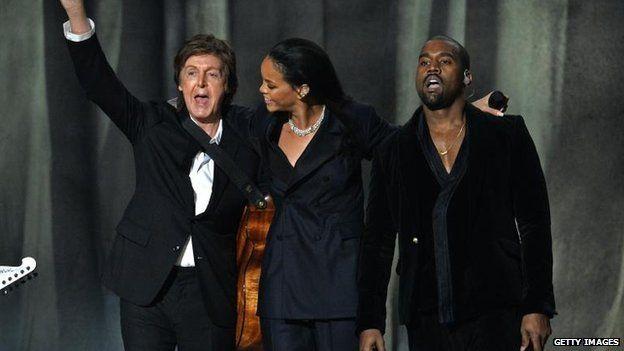 Sir Paul McCartney, Rihanna, Kanye West