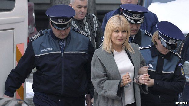 Ex-minister Elena Udrea under arrest, 11 Feb 15