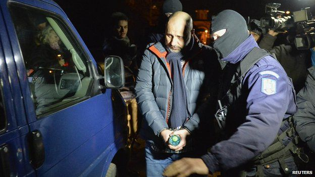 Arrest of Iulian Hertanu in Ploiesti
