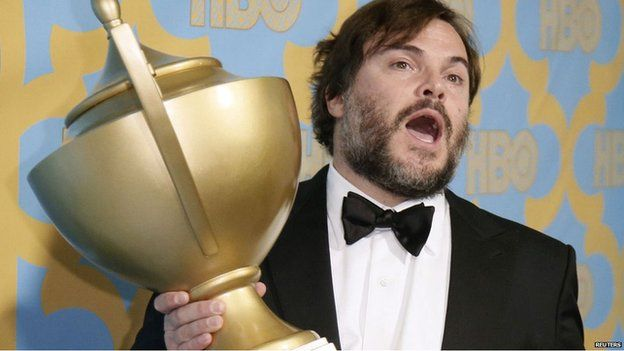 Jack Black at the Golden Globes last month