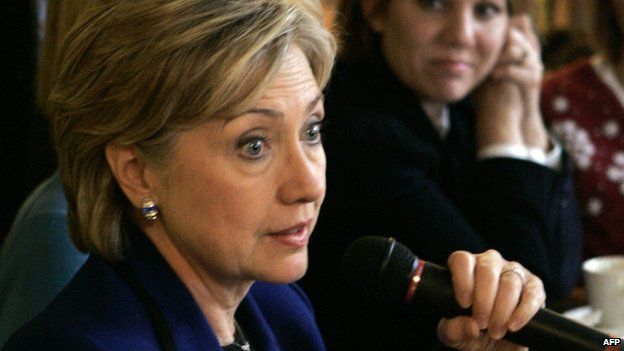 Hillary Clinton is overcome by emotion in New Hampshire in 2008.