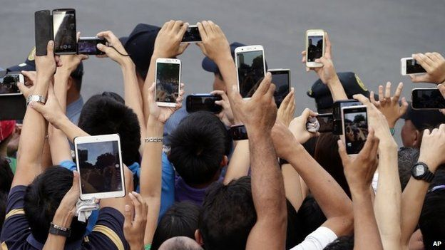 Mobile phone users in the Philippines (January 2015)