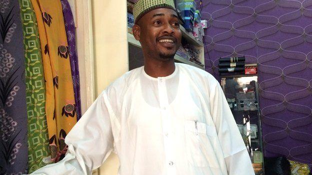 Aminu Tanko Kyaure - owner of Alhayat Global Synergy in Kano, Nigeria - February 2015