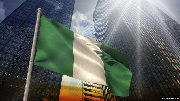 Nigerian cityscape