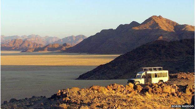 Visitors in Nkasa Rupara National Park, Namibia