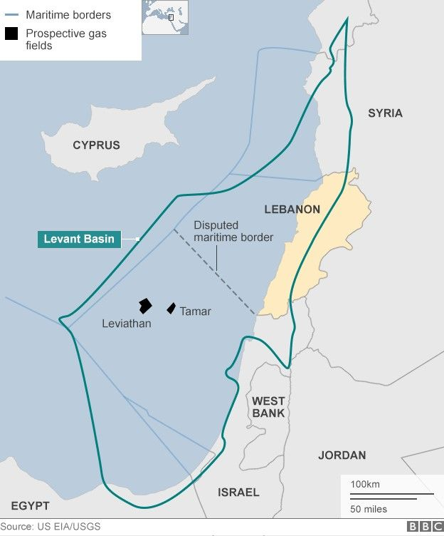 Political impasse stops Lebanon exploiting oil resources BBC News