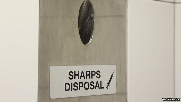 Sharps disposal