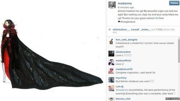 Madonna's Instagram