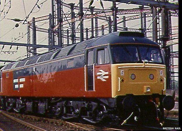 The British Rail Class 47 locomotive 2