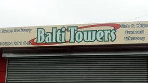 Your favourite punny shop names - BBC News