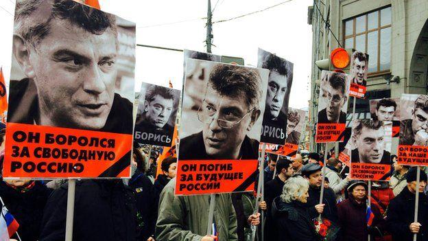 Pro-Nemtsov rally, 1 Mar 15