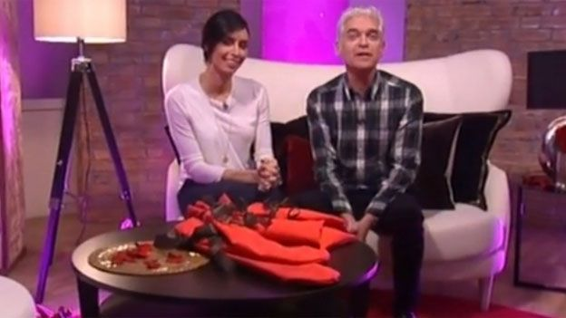 This Morning hosts Christine Bleakley and Philip Schofield