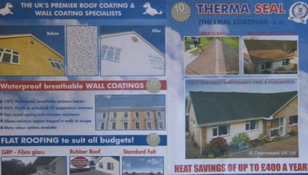 Therma Seal bosses jailed for fake thermal roof paint con - BBC News