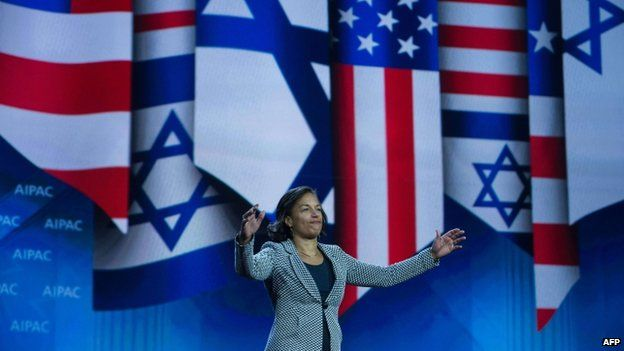 Rice told Israel supporters in Washington that Congress must not spoil Iran talks