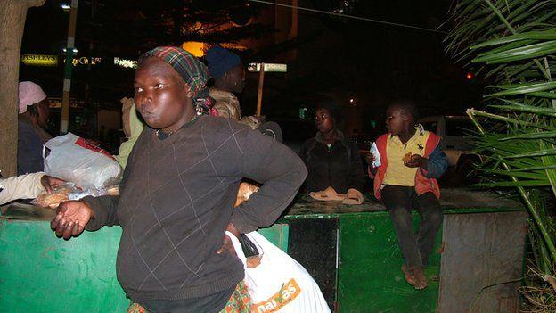Homeless people in Nairobi, Kenya