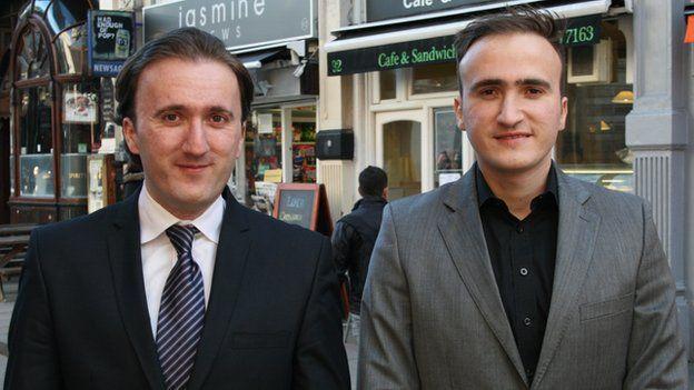 Igor (left) and Milenko Pilic