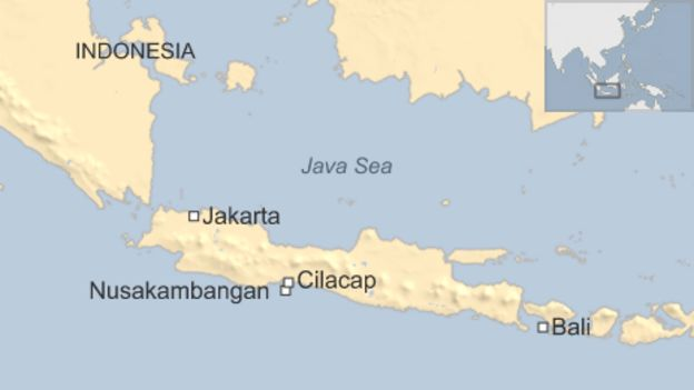 Indonesia rejects australia bali nine prisoner swap offer bbc news map gumiabroncs Choice Image