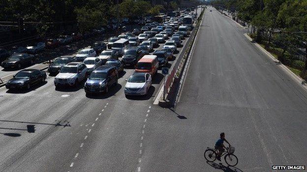 China streets