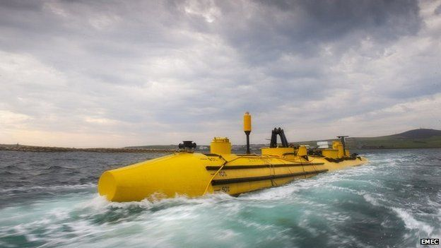Scottish Renewable tidal turbine