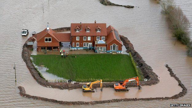 Flooding on the Somerset Levels, 2014