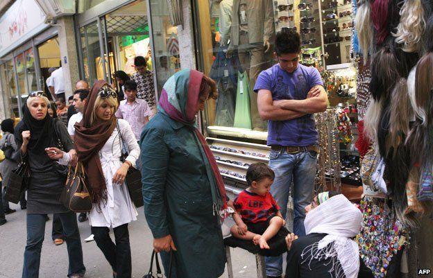 Shopping at Tajrish market