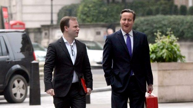 Craig Oliver and David Cameron