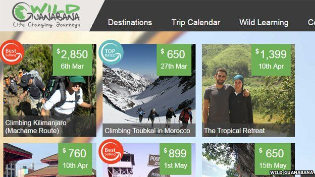 Wild Guanabana's website
