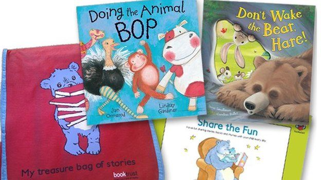 Last year, Booktrust used the Stormont grant to distribute 50,000 gift packs to homes in Northern Ireland