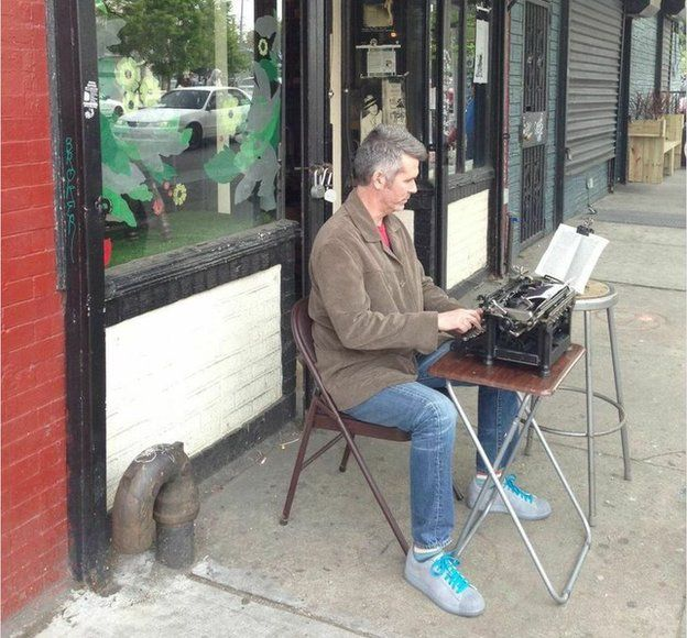 Typing Henry Miller's Tropic of Capricorn: Brooklyn, NY, May 2013