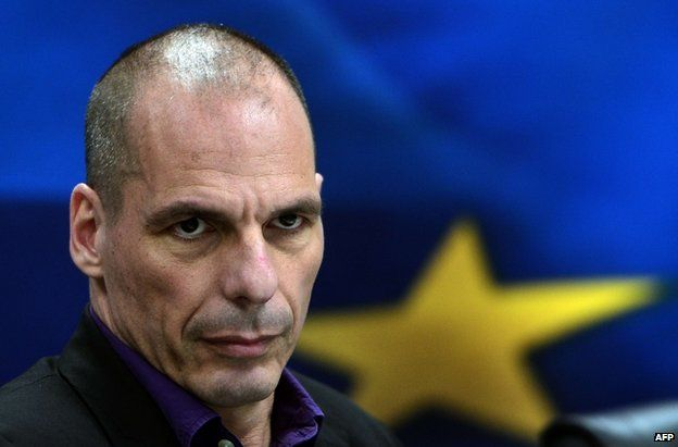 Greek Finance Minister Yanis Varoufakis in Athens, 4 March
